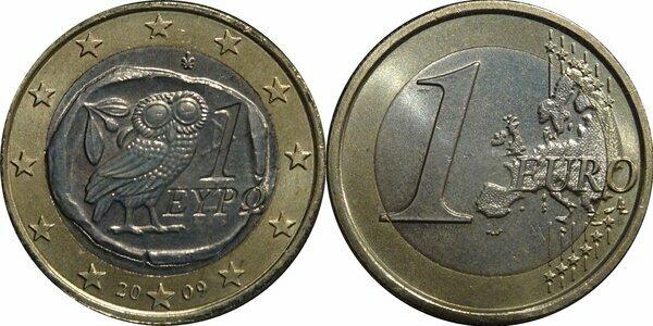 Euro (2nd map) - Greece – Numista