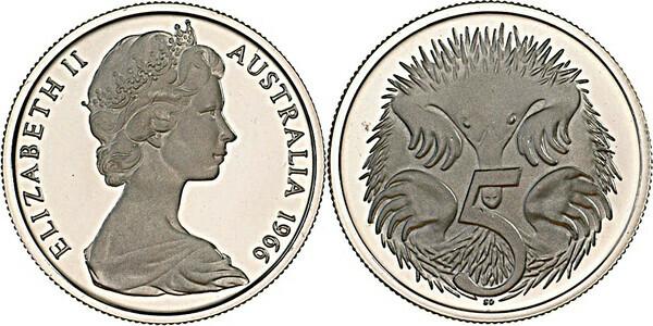 5 Cents - Elizabeth II (2nd portrait) - Australia – Numista