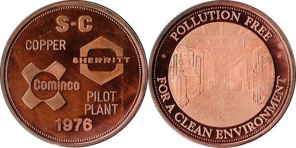 Sherritt Mint Medallion