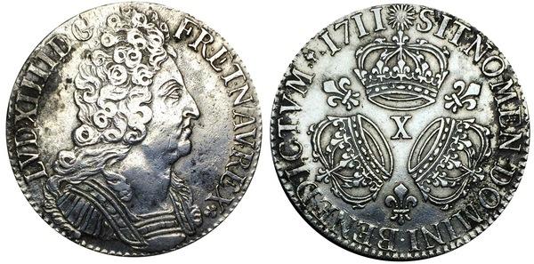1 Écu - Louis XIV - France - Royals – Numista