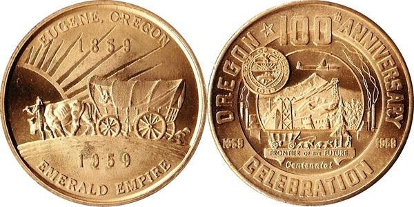 So Called Dollar Oregon Centennial Celebration Eugene