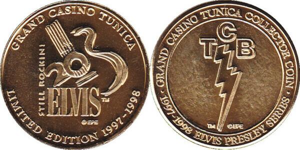 grand casino collector coin w case