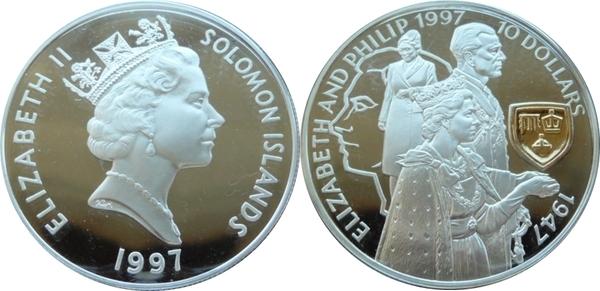 UNC SET Solomon Islands 1997-2010 $2;5;10;20;50;100 ND