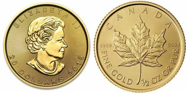 20 Dollars Elizabeth Ii 189 Oz Gold Bullion Coinage