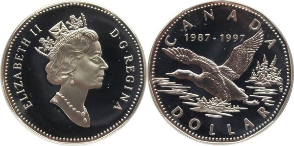 1 Dollar Elizabeth Ii Loonie Dollar Canada Numista