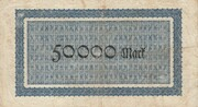 50,000 Mark – reverse