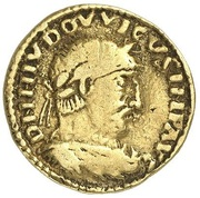 1 Solidus - Ludwig I. – obverse