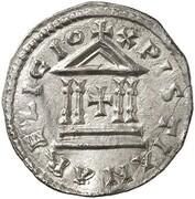 1 Denar -  Ludwig der Fromme – reverse