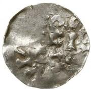 1 Denar -  Heinrich II – reverse