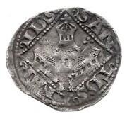 1 Denar -  Friedrich II – reverse