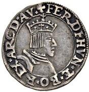 1 Marck (Coronation of Ferdinand I) – obverse
