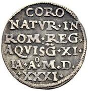 1 Marck (Coronation of Ferdinand I) – reverse