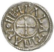 1 Denar - Karl der Kahle – reverse