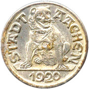 10 Pfennig - Aachen – obverse