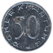 50 Pfennig - Aachen – reverse