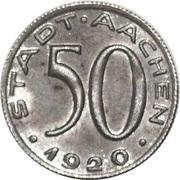 50 Pfennig - Aachen – obverse