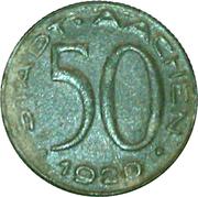 50 Pfennig - Aachen (Alfred Rethel) – obverse