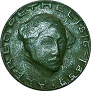 50 Pfennig - Aachen (Alfred Rethel) – reverse