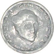 75 Pfennig - Aachen (Alfred Rethel) – reverse