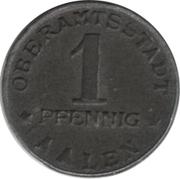 1 Pfennig - Aalen – obverse