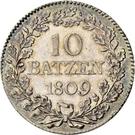 10 Batzen – reverse