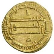 Dinar - Ibrahim - 818-819 AD -  reverse