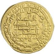 Dinar - al-Musta'in – obverse