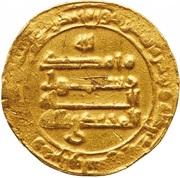 Dinar - al-Muhtadi - 869-870 AD -  reverse