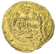 Dinar - al-Mustazhir - 1094-1118 AD -  reverse