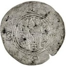 ½ Drachm - Ma'add (Abbasid Governors of Tabaristan - Arab-Sasanian) – reverse