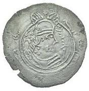 Drachm - Bakkar (Eastern Sistan - Arab-Sasanian) -  obverse