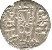 "Drachm - Caliph al-Mahdi - Sogdiana ""Transoxiana"" (imitation of Drachm of Varharan V - Arab-Bukharan) -  reverse"