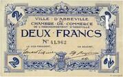 2 francs - Ville et Chambre de Commerce d'Abbeville [80] – obverse