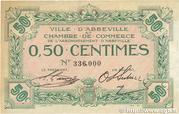 50 Centimes - Chambre de Commerce d'Abbeville (80) – obverse