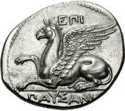 Stater - Pausanias – obverse