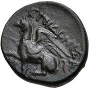Dichalkon - Dionysas – reverse