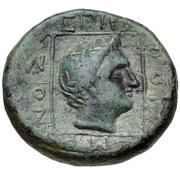 Bronze Æ18 - Erogeitonos – reverse