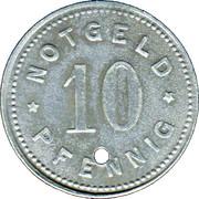 10 Pfennig - Abensberg – reverse