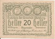 20 Heller (Abetzberg) – obverse