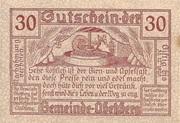 30 Heller (Abetzberg) – reverse