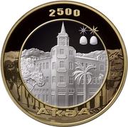 10 Apsars (Akua; gold-plating) -  reverse