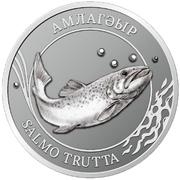 2 Apsars (Brown trout) – reverse
