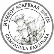 2 Apsars (Campanula paradoxa) – reverse