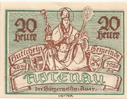 20 Heller (Abtenau) -  obverse