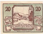 20 Heller (Abtenau) -  reverse