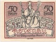 50 Heller (Abtenau) – obverse