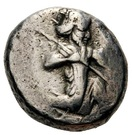 Siglos - Darius I / Artaxerxes II - 522-358 BC (THE ROYAL COINAGE - 3rd type) – obverse