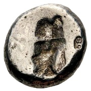 Siglos - Darius I / Artaxerxes II - 522-358 BC (THE ROYAL COINAGE - 3rd type) – reverse