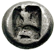 ¼ Siglos - Artaxerxes II / Darius III - 405-330BC (THE ROYAL COINAGE - 4th type C) – reverse