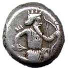 Siglos - Artaxerxes I / Darius III - 465-330 BC (THE ROYAL COINAGE - 4th type) – obverse